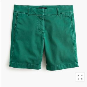 "J.crew 7"" stretch chino shorts"